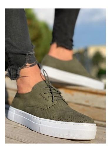 Chekich CH061 BT Erkek Ayakkabı HAKı Haki